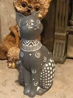 Latex Mould to make Tall Sitting Cat Ornament